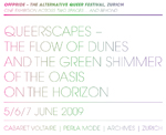 Queerscapes - The Flow of Dunes and the Green Shimmer on the Horizon